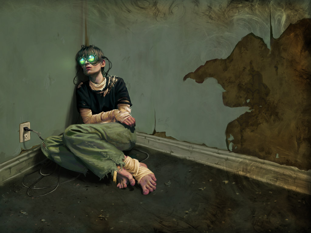 Is this the future MMORPG player?  I don't think so.  I think there's a lot more to us than just a junkie addict.