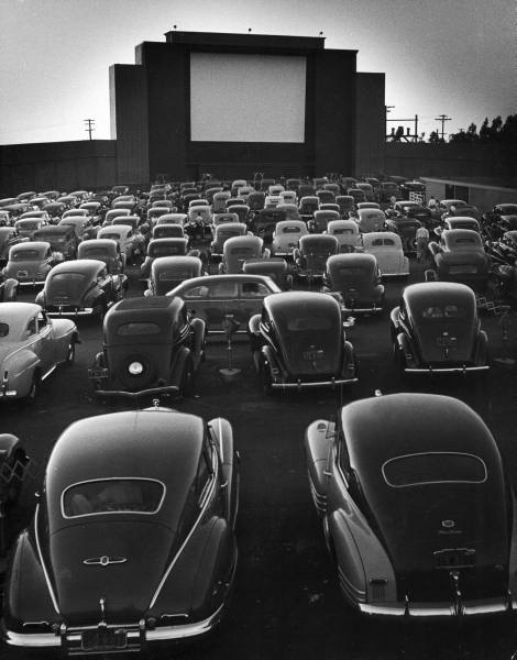 1960s drive-in movie