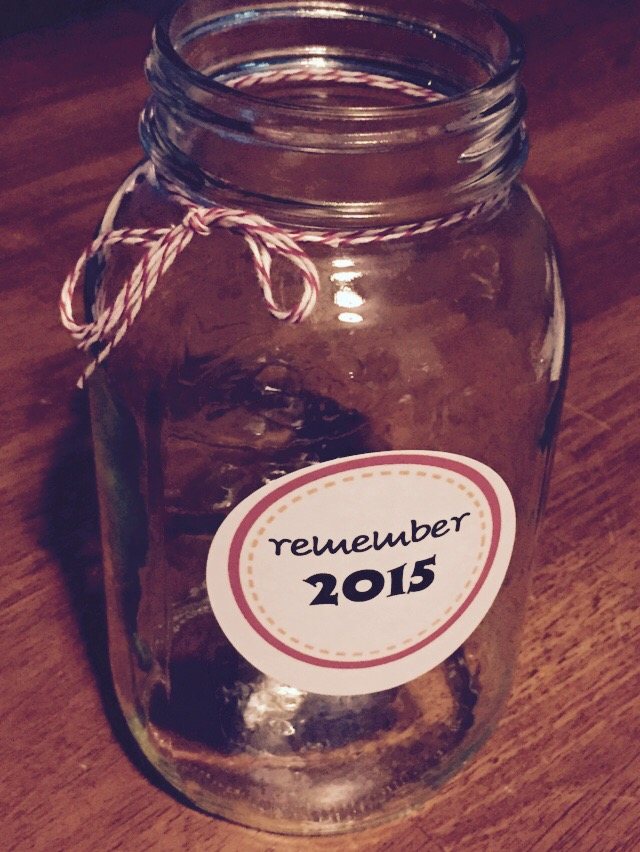 Erin's Rememberolution Jar