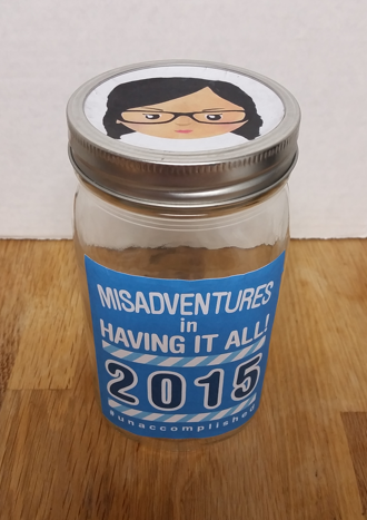 Unaccomplished Lady Rememberolution Jar