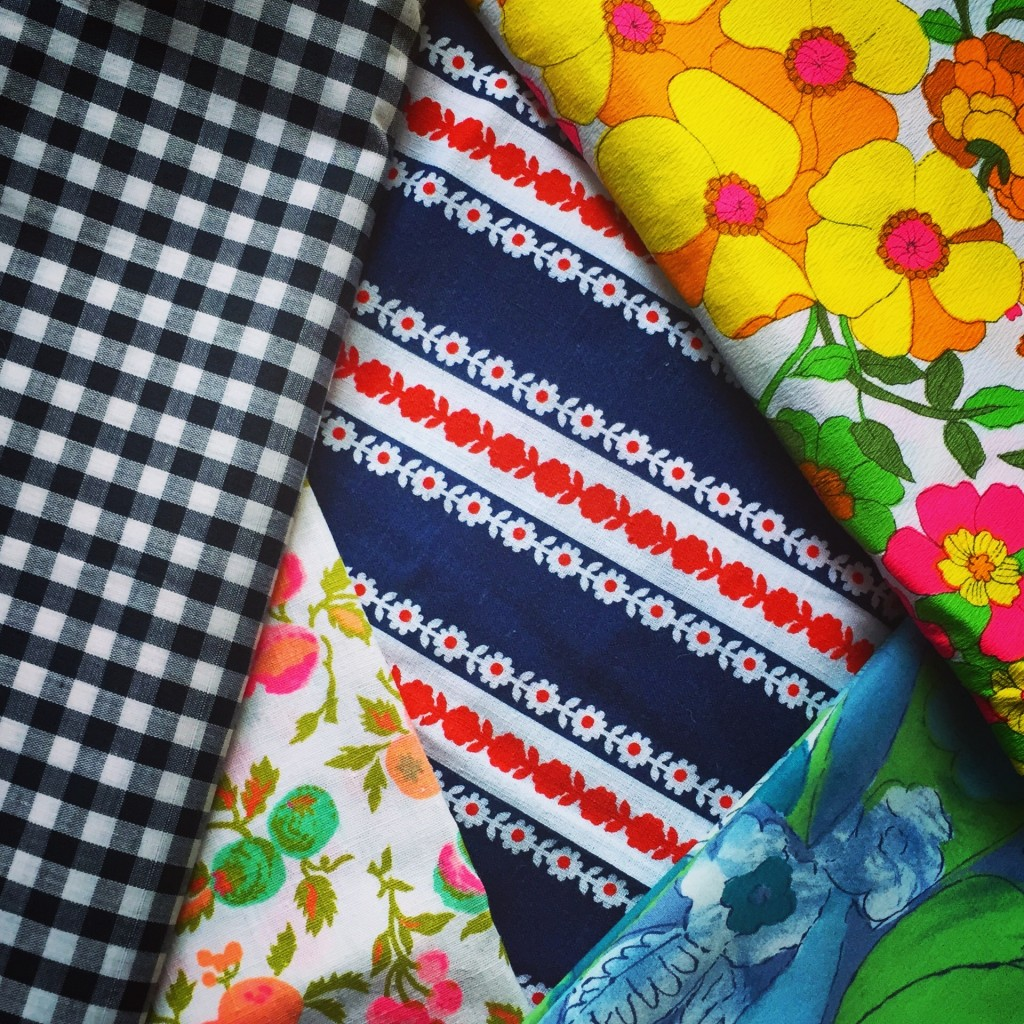 The almighty vintage fabric haul!