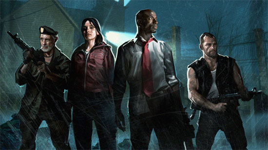 Nothing more relaxing than fighting a horde of zombies with three of your best friends in Left 4 Dead.  Okay, maybe that's not the most relaxing, but it sure helps me forget about stressful days.