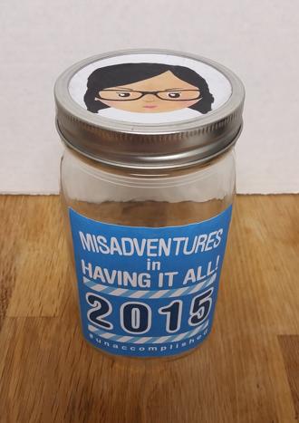 Unaccomplished Lady Rememberolution Jar