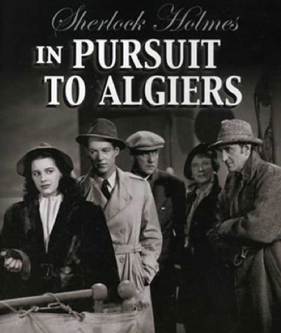 Sherlock Holmes in Pursuit to Algiers