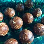 Chocolate Date Cashew Balls
